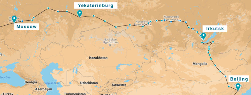 Moscow to Beijing by train