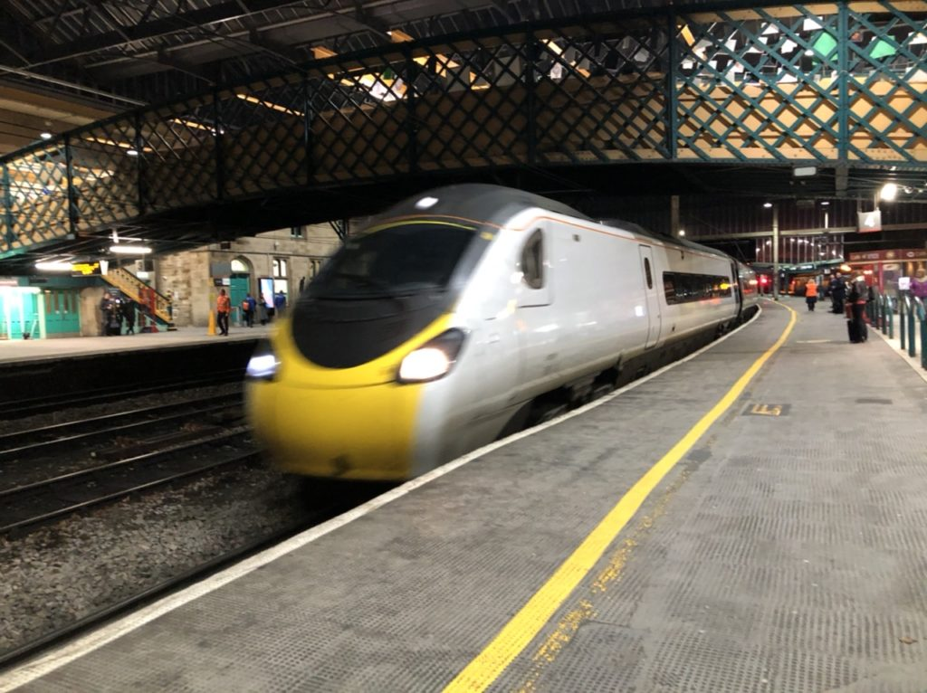 Avanti West Coast train at Carlisle